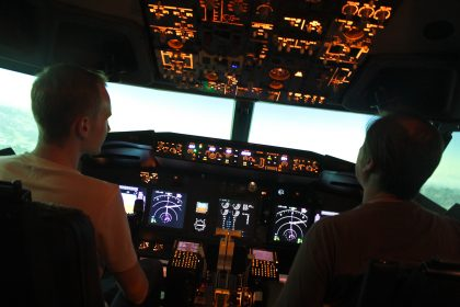 Flying on Boeing 737NG