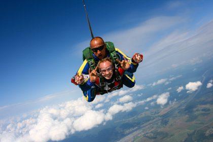 Skydive #8, 4000m